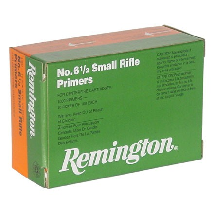 Image for 6 1/2 Small Rifle Primer (1000 Count)