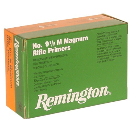 9 1/2 Magnum Large Rifle Primer (1000 Count)