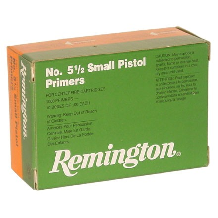 5 1/2 Small Mag Pistol Primer (1000 Count)