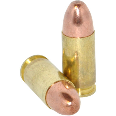 9mm Luger 115 Grain FMJ 100 Rounds
