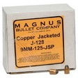 9mm .355 Diameter 125 Grain Jacketed Soft Point 250 Count