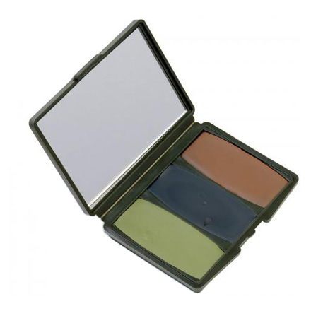 3 Color Woodland Camo Compact Make-Up Kit