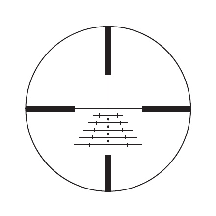 "Z3 3-10x42mm BRH Reticle 1"" Matte Finish"