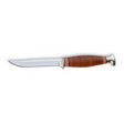 "Leather Handled Little Finn 3-5/8"" Blade 7"" Overall With Leather Sheath"