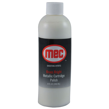 MEC Brass Bright Media Polish Additive 8oz Bottle