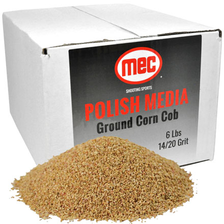 MEC Corn Cob Media 12/20 Grit - 6lbs Box