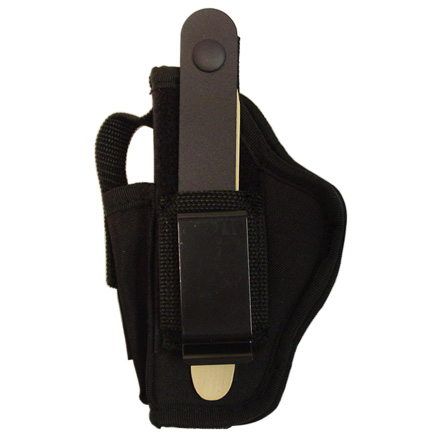 "Image for Gunmate #10 Ambidextrous Hip Holster Large Frame Pistol Up to 4"" Barrel Clam Pk"