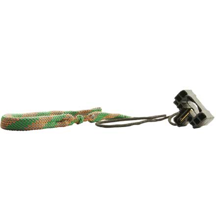 Hoppe's .357, 9mm, .380, .38 Caliber Pistol Boresnake with Den