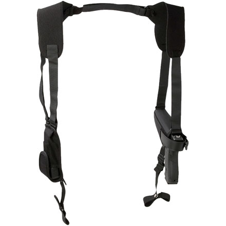 Size 5 Black Ambixdextrous Pro Pak Horizontal Holster
