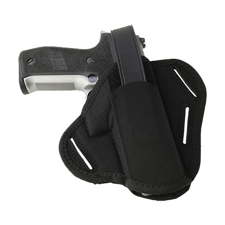 Size 0 Black Ambidextrous Concealed Carry Slide Holster