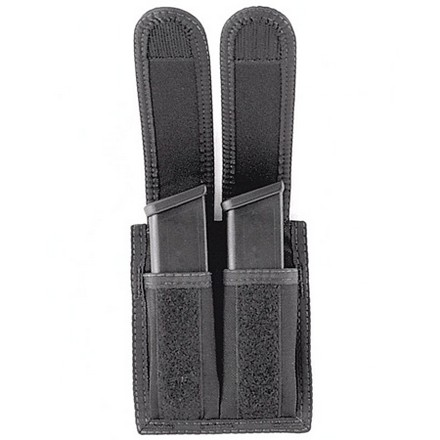 Universal Double Pistol Magazine Case Velcro Closure .45 & 9mm