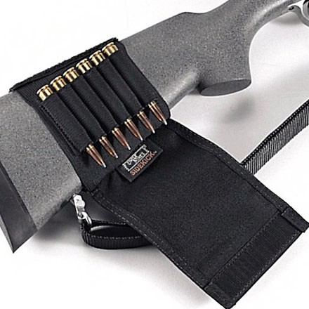 Buttstock Shell Holder Rifle With Flap