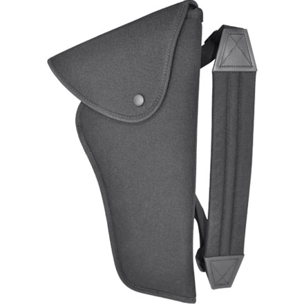 Image for Size 4 Scoped Bandolier Hunting Holster Black Nylon