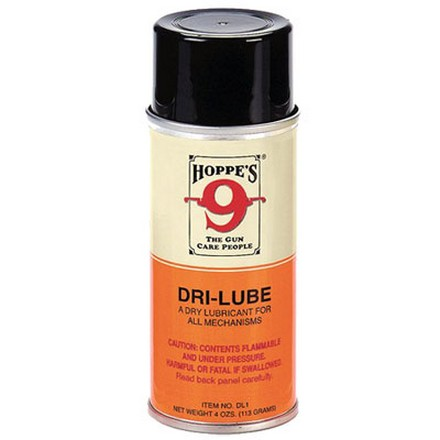 Hoppe's Dry Lube With Teflon 4 Oz Aerosol
