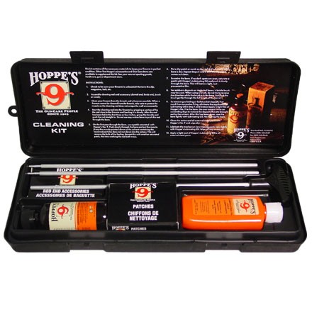 Hoppe's Cleaning Kit 22 Caliber Aluminum Rods