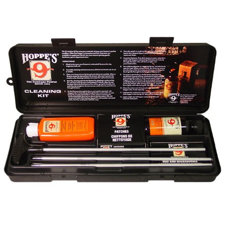 Hoppes Rifle and Shotgun Cleaning Kit With Aluminium Rods