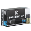 RWS .22 LR Subsonic Ammo 50 Rounds