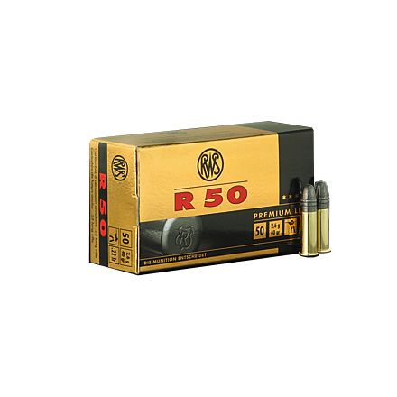 Image for RWS .22 LR R50 40 Grain Ammo 5 0 Rounds