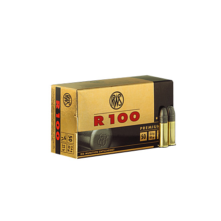 Image for RWS .22 LR R100 40 Grain Ammo 50 Rounds