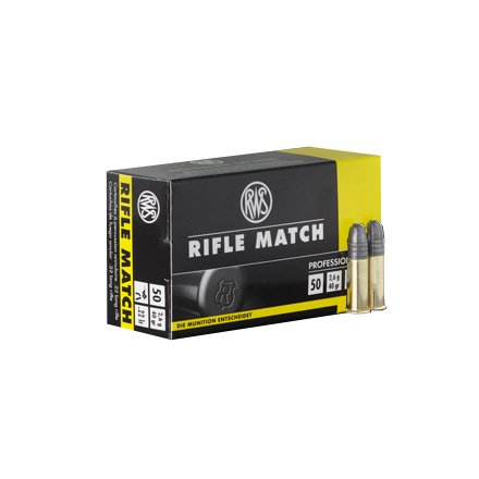 Image for RWS .22 LR Rifle Match Ammo 40 Grain 50 Rounds