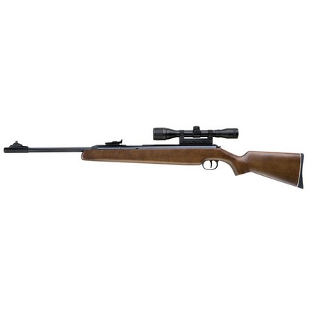 RWS Model 48 .177 Caliber Beech Stock With 4x32mm Scope & C-Mount Combo