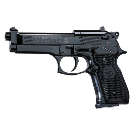 Image for Beretta M92FS .177 Caliber Air Pistol 425 F.P.S. Black With Black Grips
