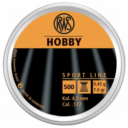 Hobby Pellets Sports Line .177 Caliber 500 Count