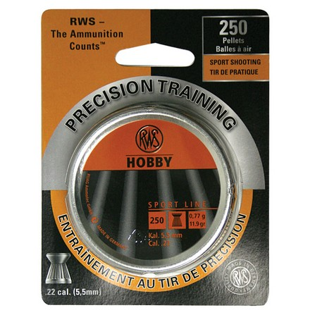 Hobby Pellets Sports Line .22 Caliber 250 Count