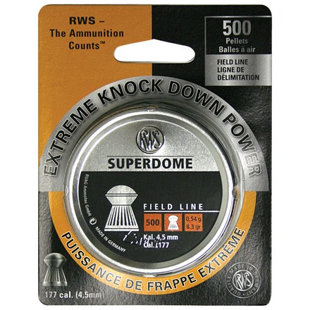 Superdome Pellet Field Line .177 Caliber 500 Count
