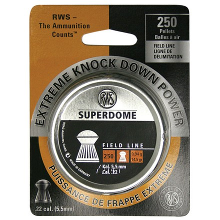 Superdome Pellet Field Line .22 Caliber 250 Count
