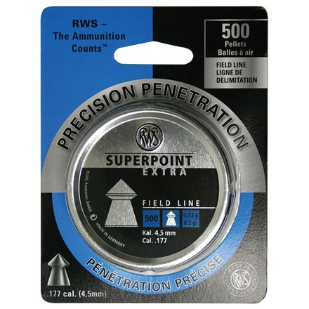 Super Point Extra .177 Caliber 500 Count