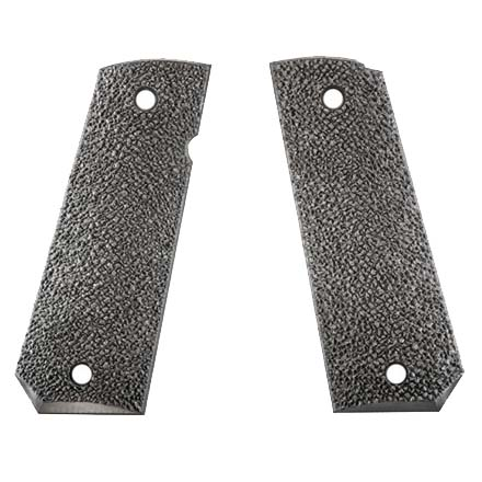 XTR 1911 Grip Tapered Bottom Hard Rubber 2 Piece Black