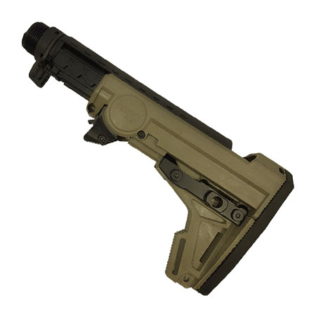 AR-15/M-16 F93 Adjustable Pro Stock Assembly (Includes Butt- Pad and Hardware) OD Green