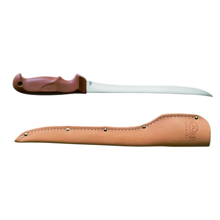 "Image for Filet Knife 9"" Blade 14"" Overall With Leather Sheath"