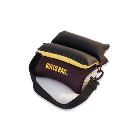 "Image for Bulls Bag Engineer Style Field 10"" Shooting Rest Unfilled Black/Gold"
