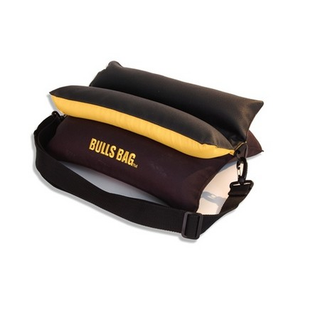 "Image for Bulls Bag Engineer Style Bench 15"" Shooting Rest Unfilled Black/Gold"
