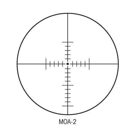 SIIISS 10-50X60mm Long Range With MOA Reticle 30mm Tube Matte Finish