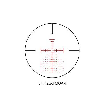 SIIISS 8-32x56mm Long Range With MOA-H Reticle Matte Finish
