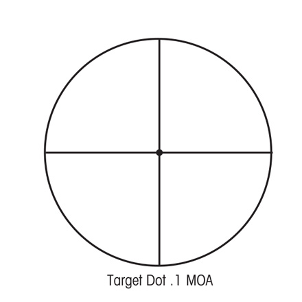 SIIISS 10-50x60mm Long Range With Target Dot Reticle (LRTD) Matte Finish
