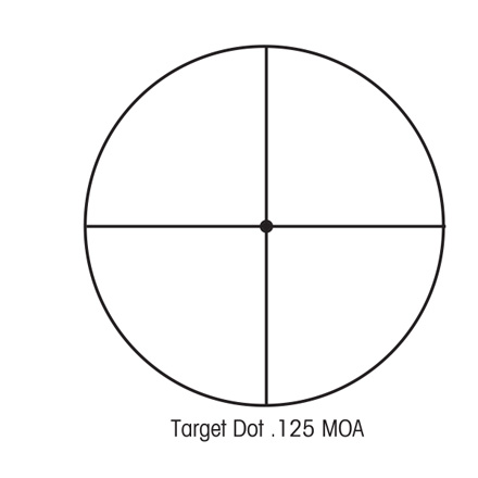 SIIISS 8-32x56mm Long Range With Target Dot Reticle (LRTD/TDT) Matte Finish