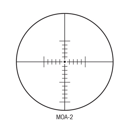 S-TAC 30mm 4-20x50 Side Focus With MOA Reticle Matte Finish