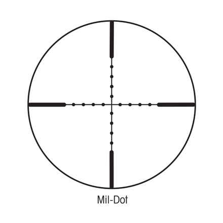 SIH 3-9x40mm With Mil-Dot Reticle Matte Finish