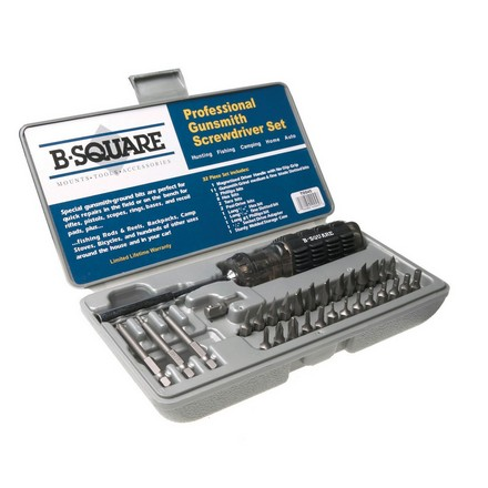 32 Piece Professional Gunsmith Screwdriver Set