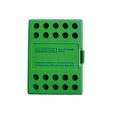 Green Plastic Die Box
