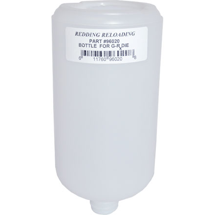 32oz HDPE Bottle For 40 S&W GR-X Push Thru Base Sizing Die