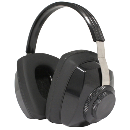 Image for Competitor Black Earmuff