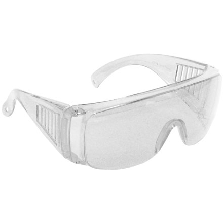 Coverall Shooting Glasses Clear Lens