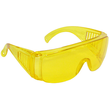 Coverall Shooting Glasses Amber Yellow Lens