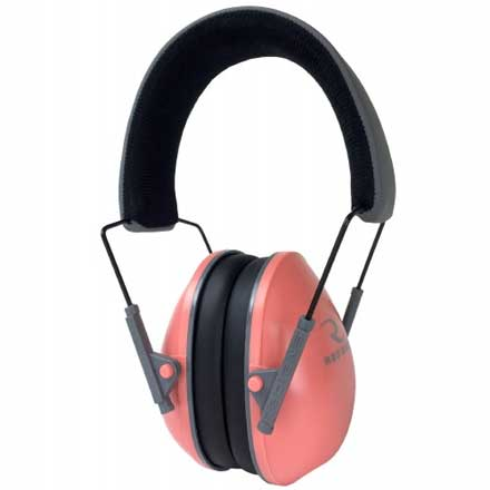 Lowset Ladies Coral and Charcoal Ear Muff
