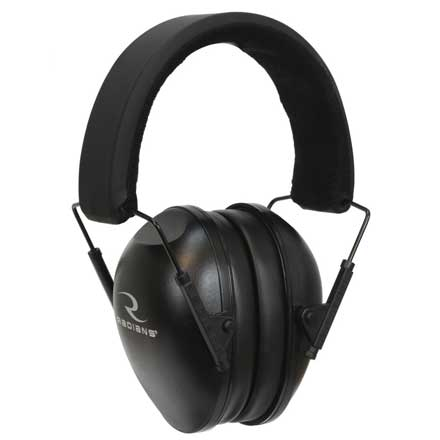 Lowset Youth Earmuff Black NRR21